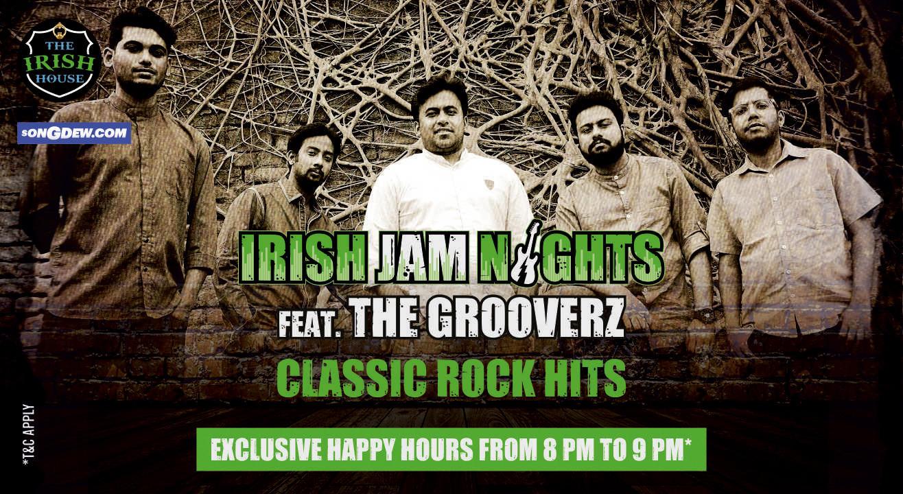 Irish Jam Nights Ft. The Grooverz