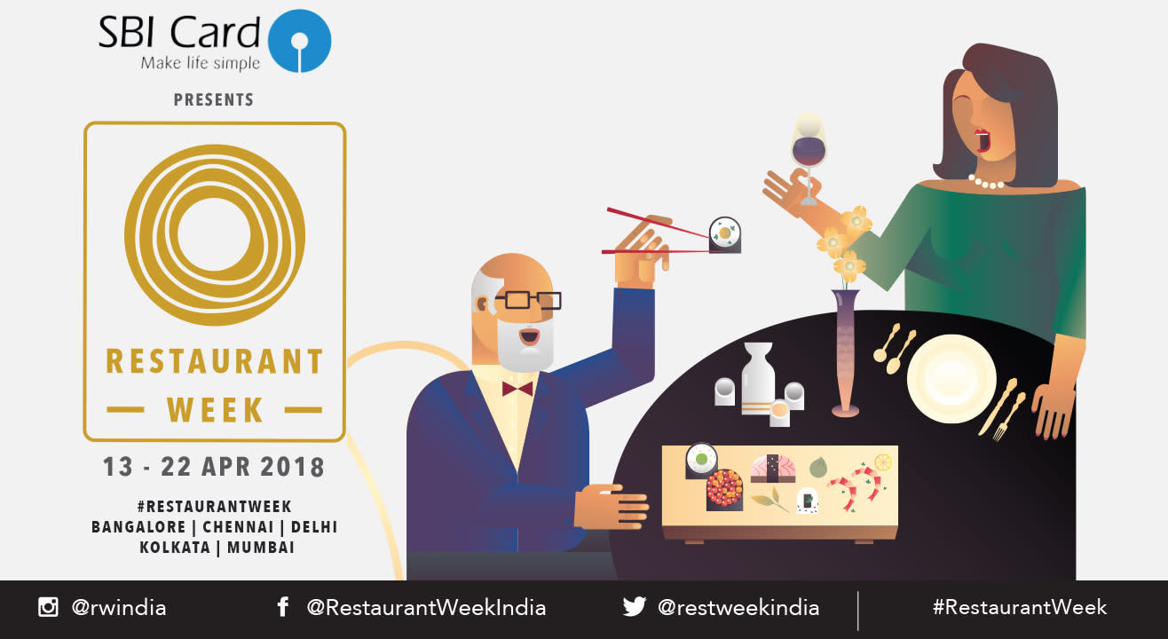 SBI Card Restaurant Week: April 13th – 22nd, 2018