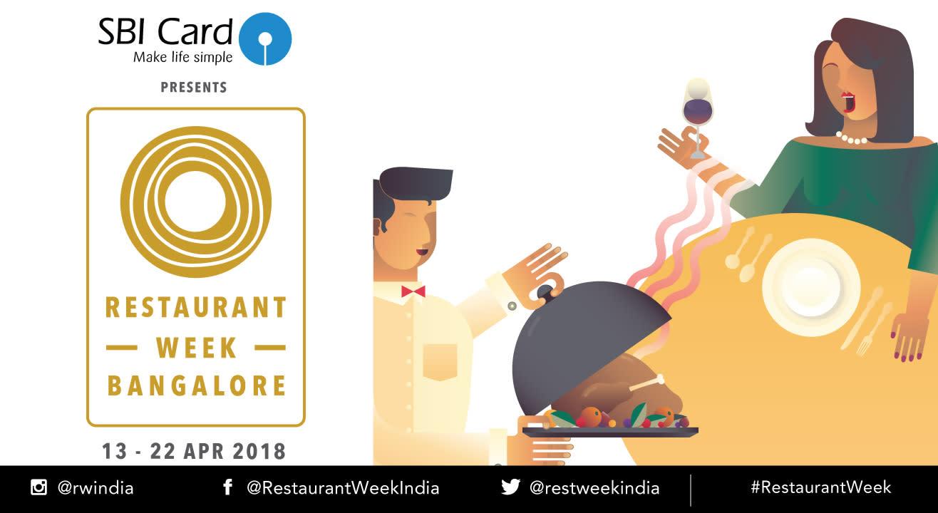SBI Card Restaurant Week Bangalore: April 13th – 22nd, 2018