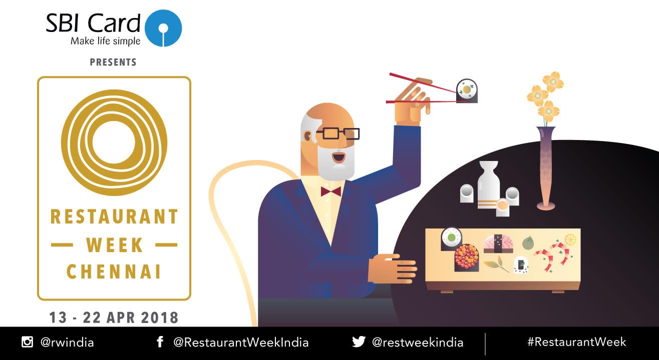 SBI Card Restaurant Week Chennai: April 13th – 22nd, 2018
