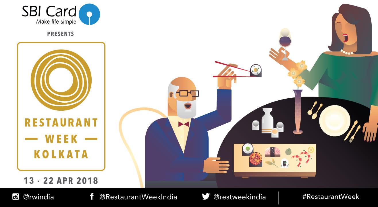 SBI Card Restaurant Week Kolkata: April 13th – 22nd, 2018