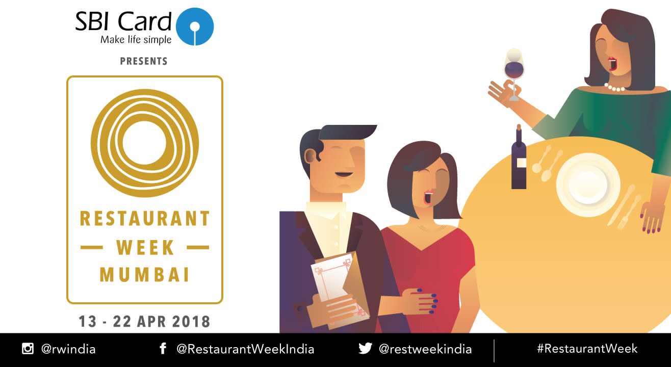 SBI Card Restaurant Week Mumbai: April 13th – 22nd, 2017