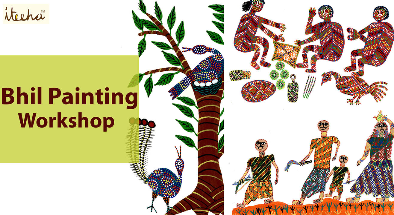 Bhil Painting Workshop
