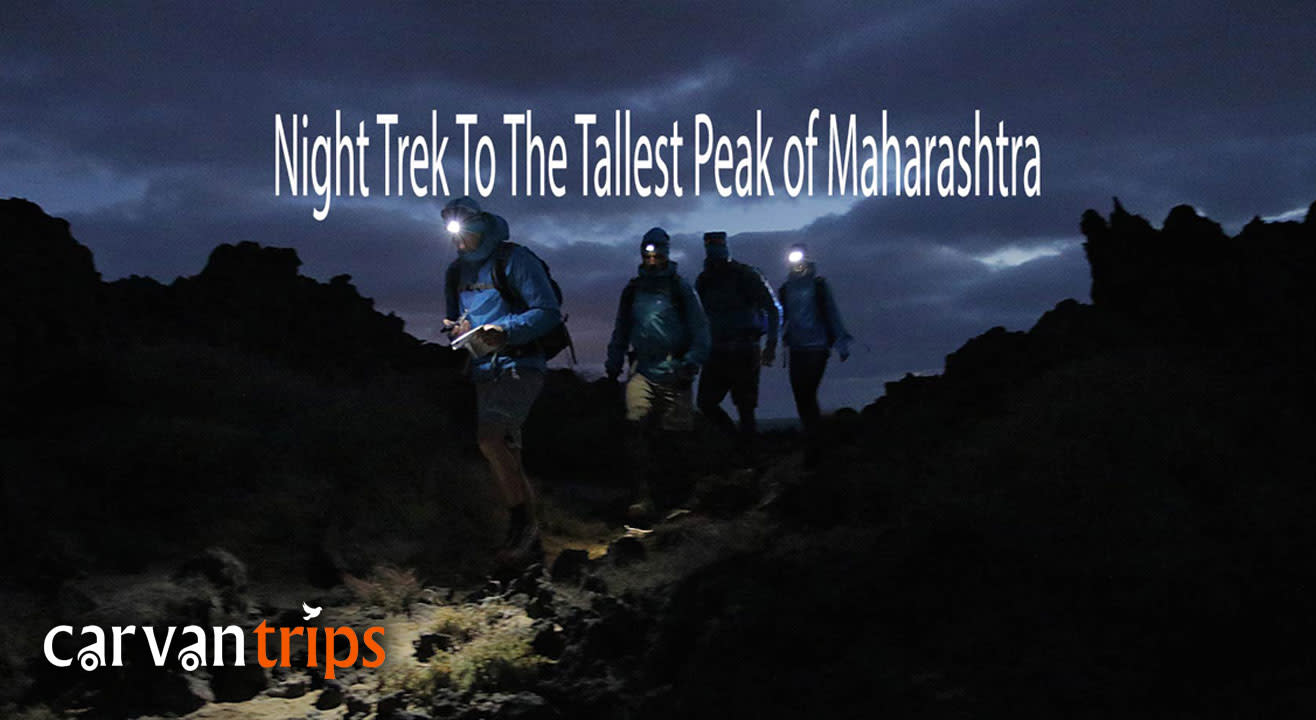 Night trek to the Tallest Peak of Maharashtra