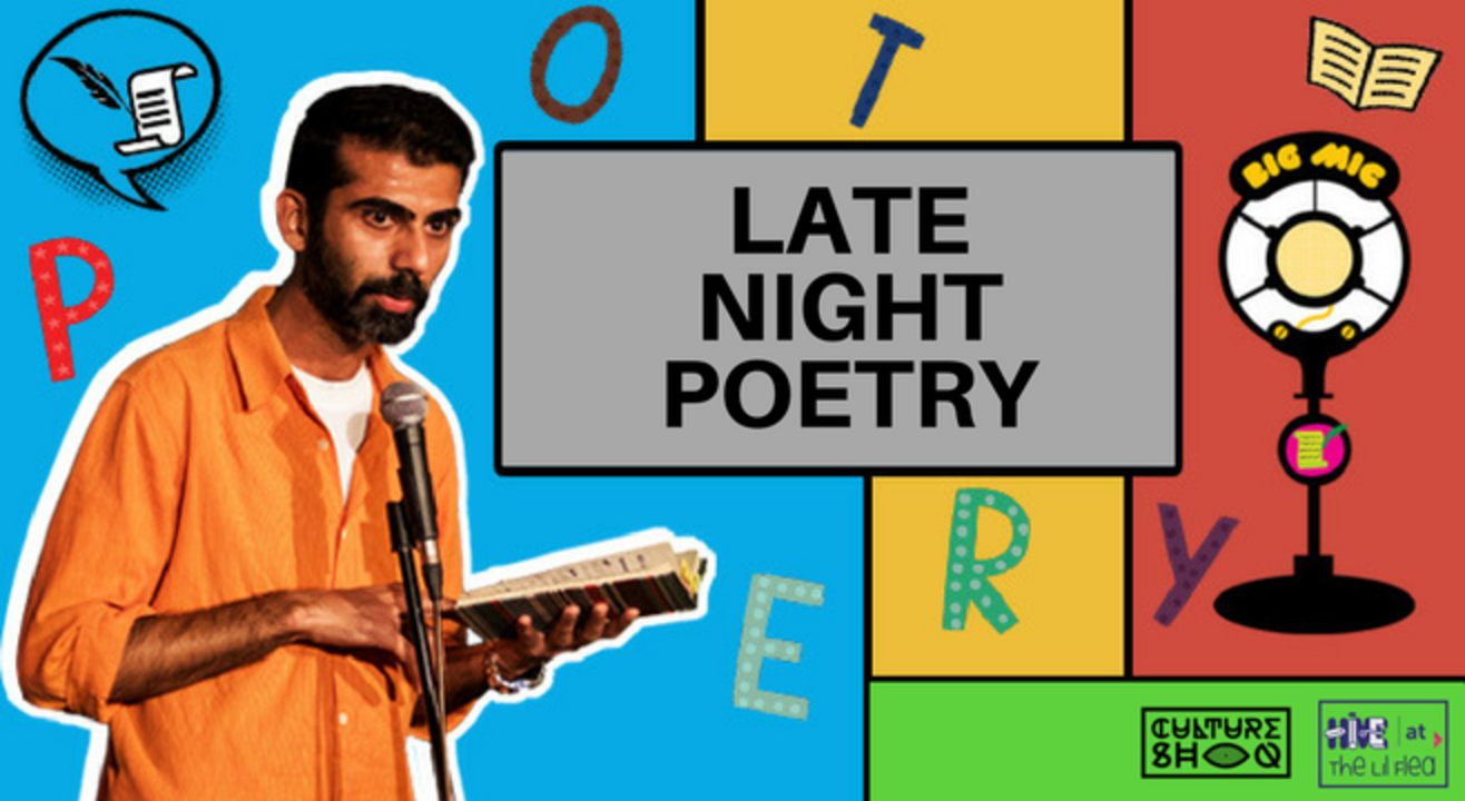 Hive presents: Late Night Poetry at The Lil Flea