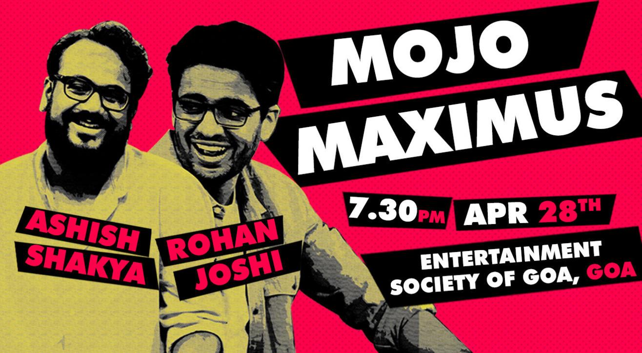 LVC present LOLStars ft Mojomaximus: Rohan Joshi & Ashish Shakya, Goa