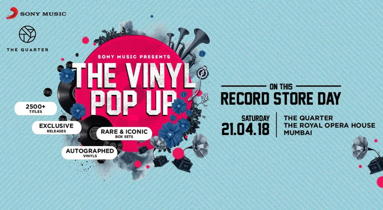 The Vinyl Pop Up, Mumbai '18