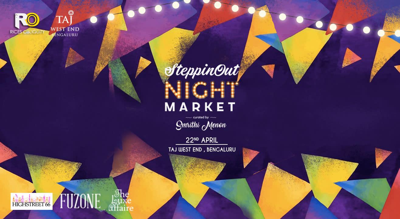 SteppinOut Night Market, Bangalore