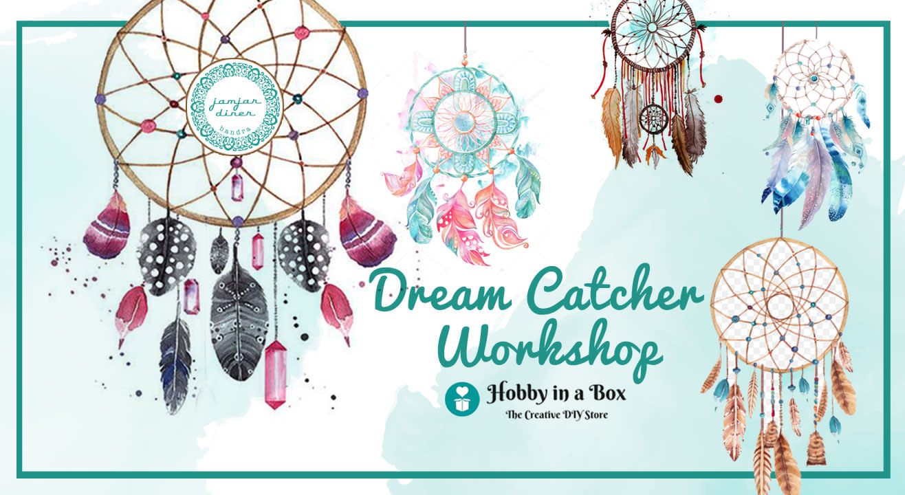 Dream Catcher Workshop by Hobby in a Box