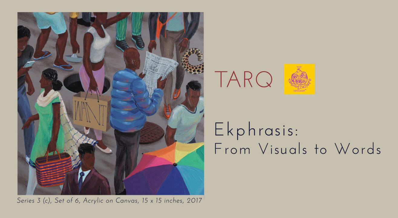 Ekphrasis: From Visuals to Words