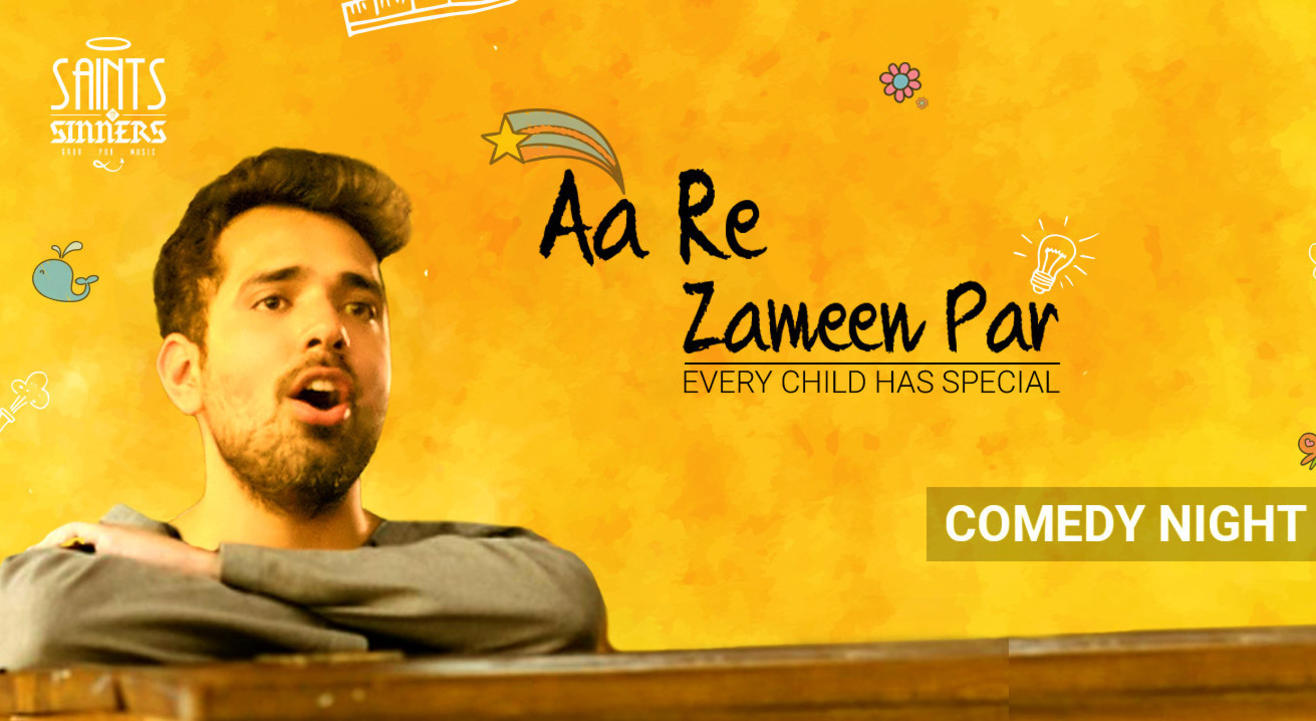 SNS FunnyTimes presents Aa Re Zaamen Par - Every Child has special - A solo comedy show by Shivam Lakhanpal