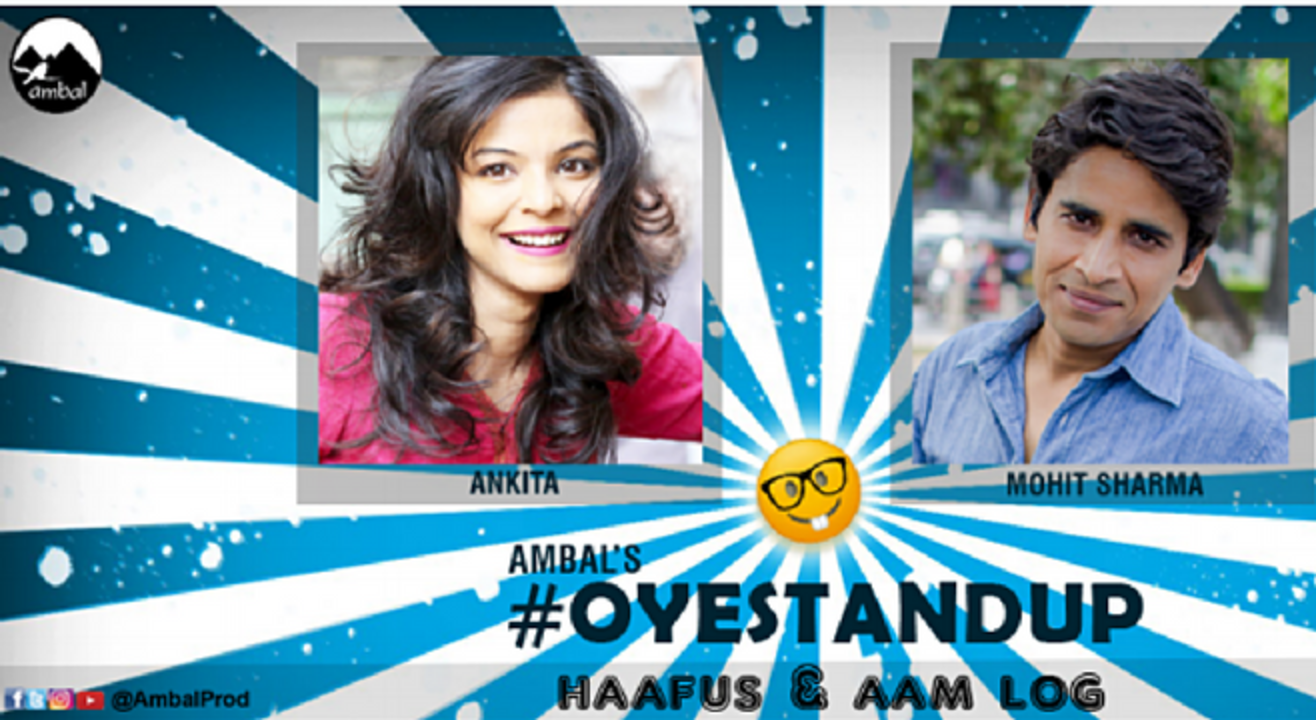 #OyeStandUp with Mohit Sharma and Ankita Shrivastav