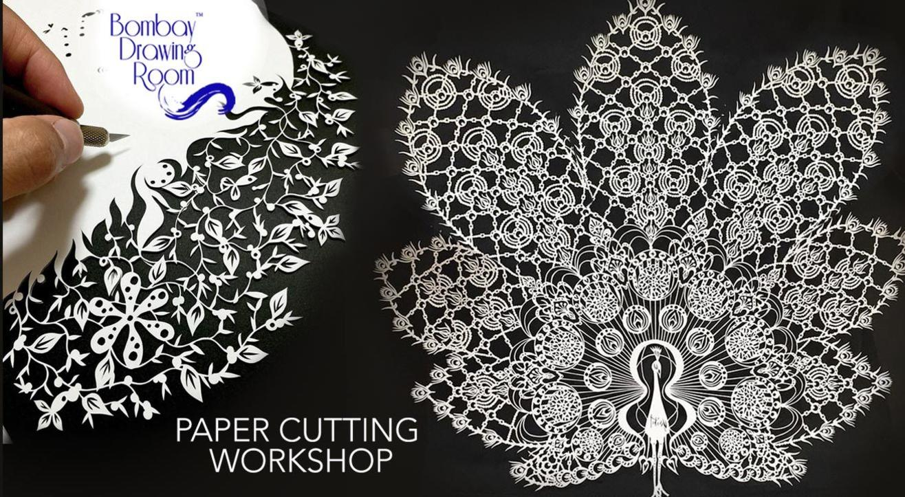 Paper Cutting Workshop by Bombay Drawing Room