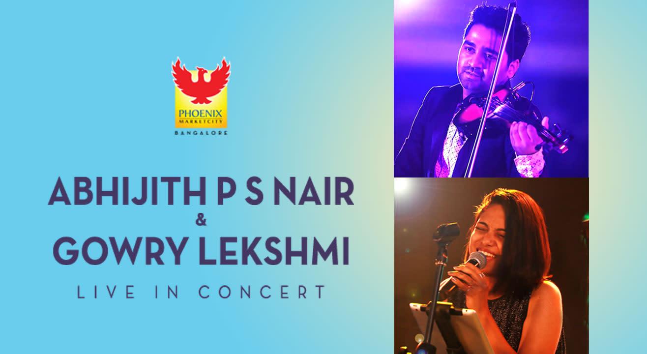 Abhjiith P S Nair & Gowry Lekshmi LIVE