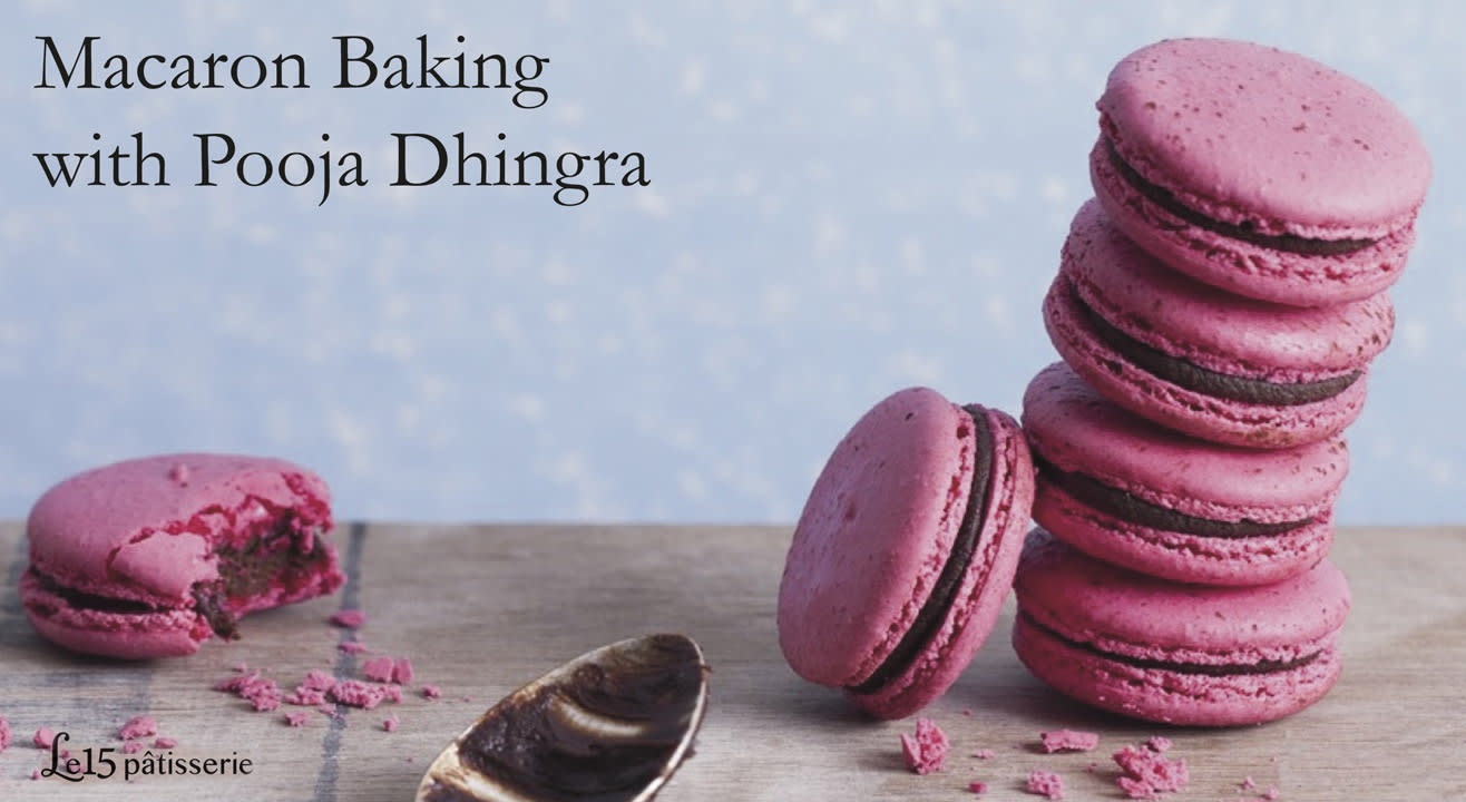 Macaron Baking with Pooja Dhingra