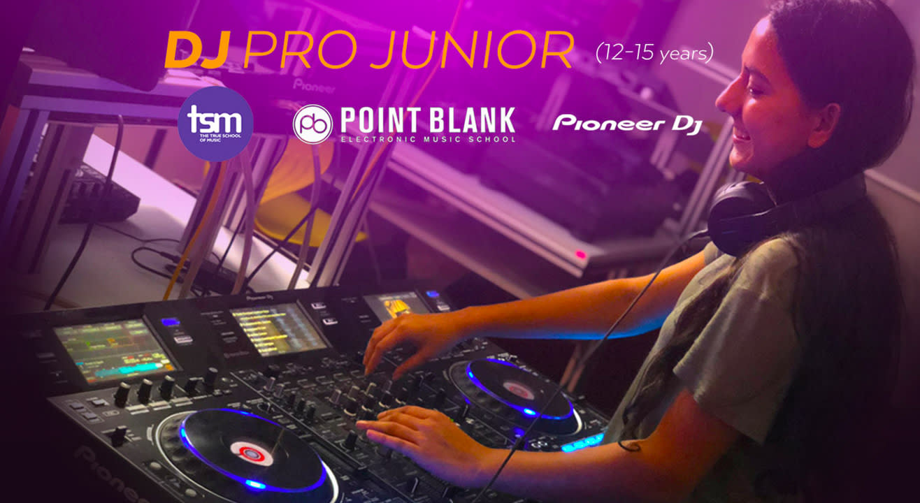 True School: DJ Pro Junior Certified by Point Blank, London