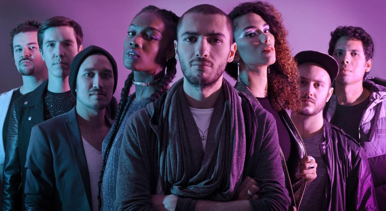 Electrophazz ( Nu soul / Hip-hop - France) at The Humming Tree