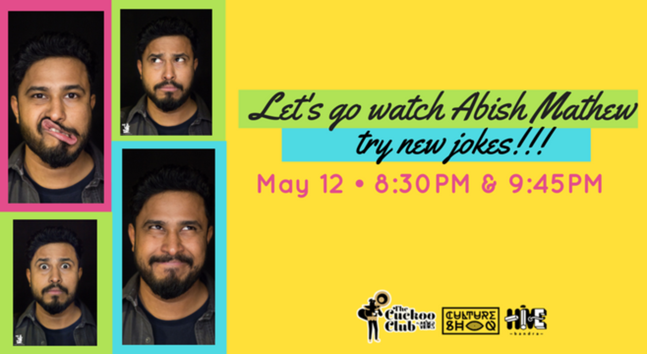 Let's Go Watch Abish Mathew Try New Jokes!