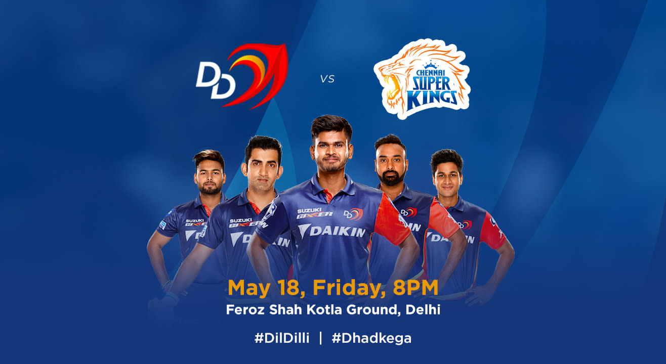 VIVO IPL 2018 - Match 52 - DD vs. Chennai Super Kings