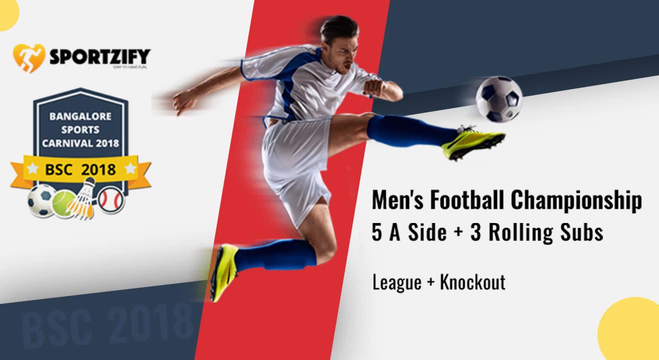 Men's Football Championship - BSC2018