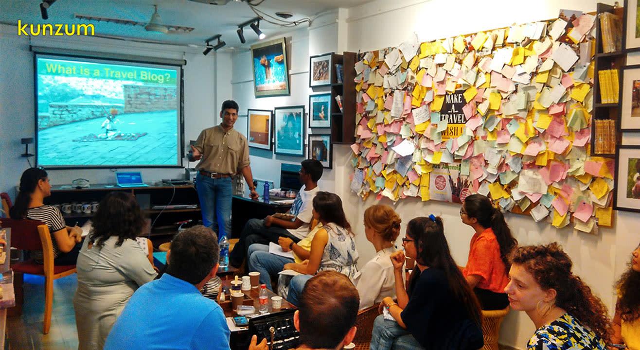 Travel Blogging Workshop: Explore the World for Free  - June