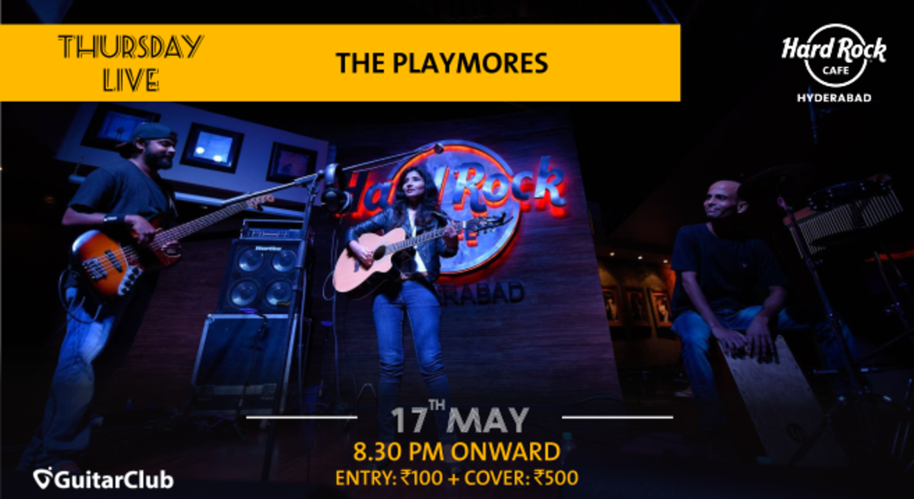 The Playmores - Thursday Live!
