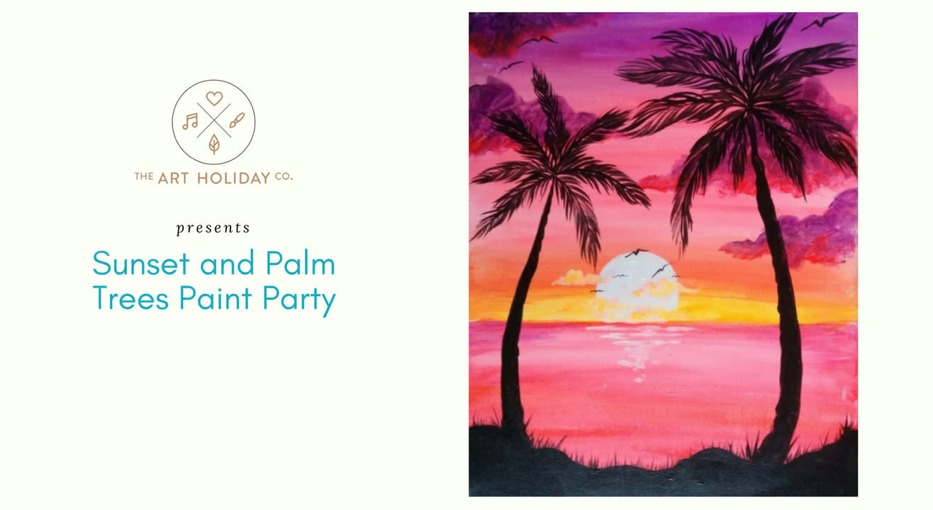 Sunset Paint Party