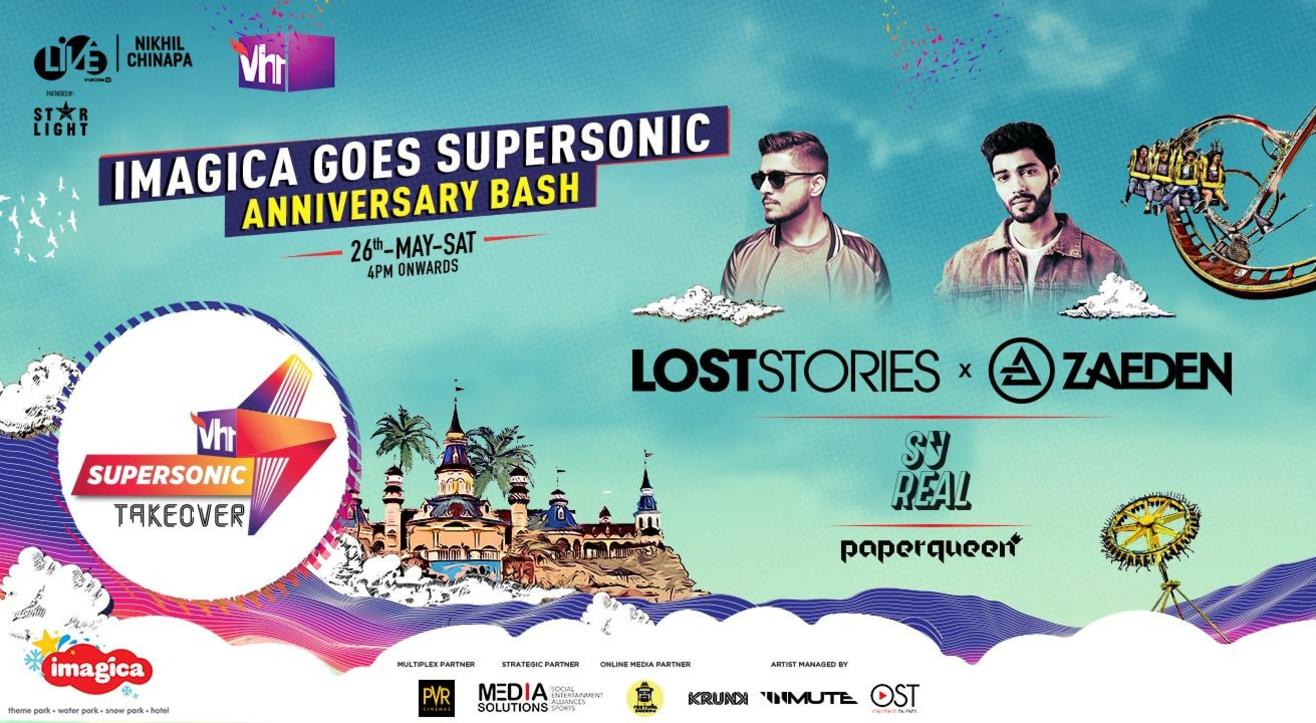 Imagica Goes Supersonic, Anniversary Bash