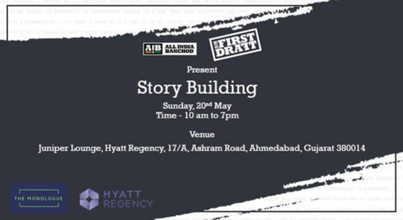 AIB First Draft: Story Building Workshop