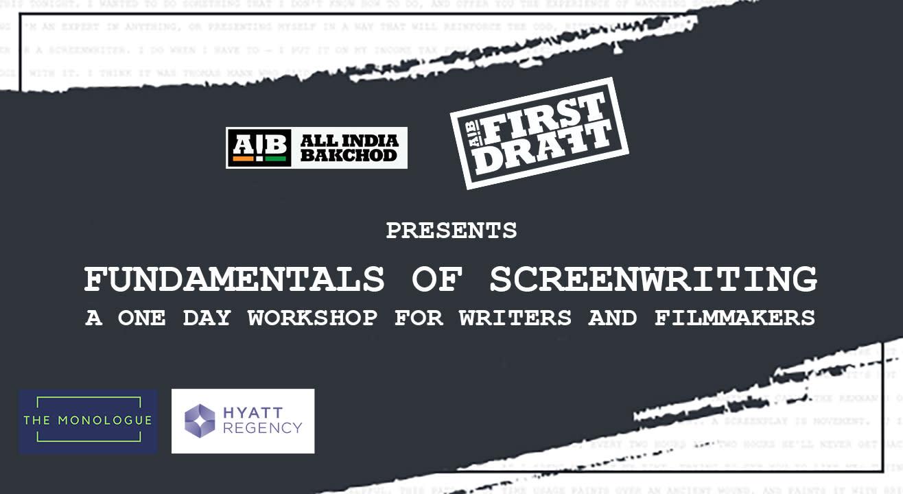 AIB First Draft: Fundamentals of Screenwriting