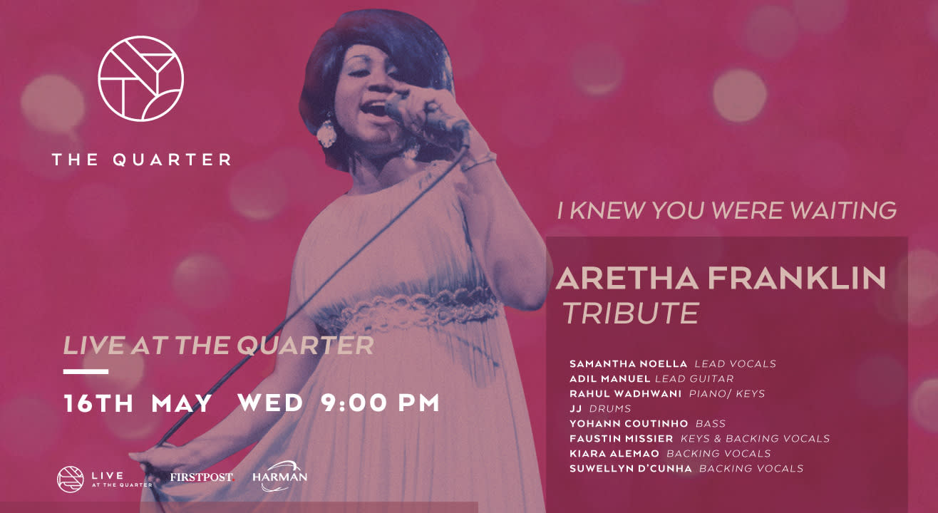 Aretha Franklin Tribute by Samantha Noella at The Quarter