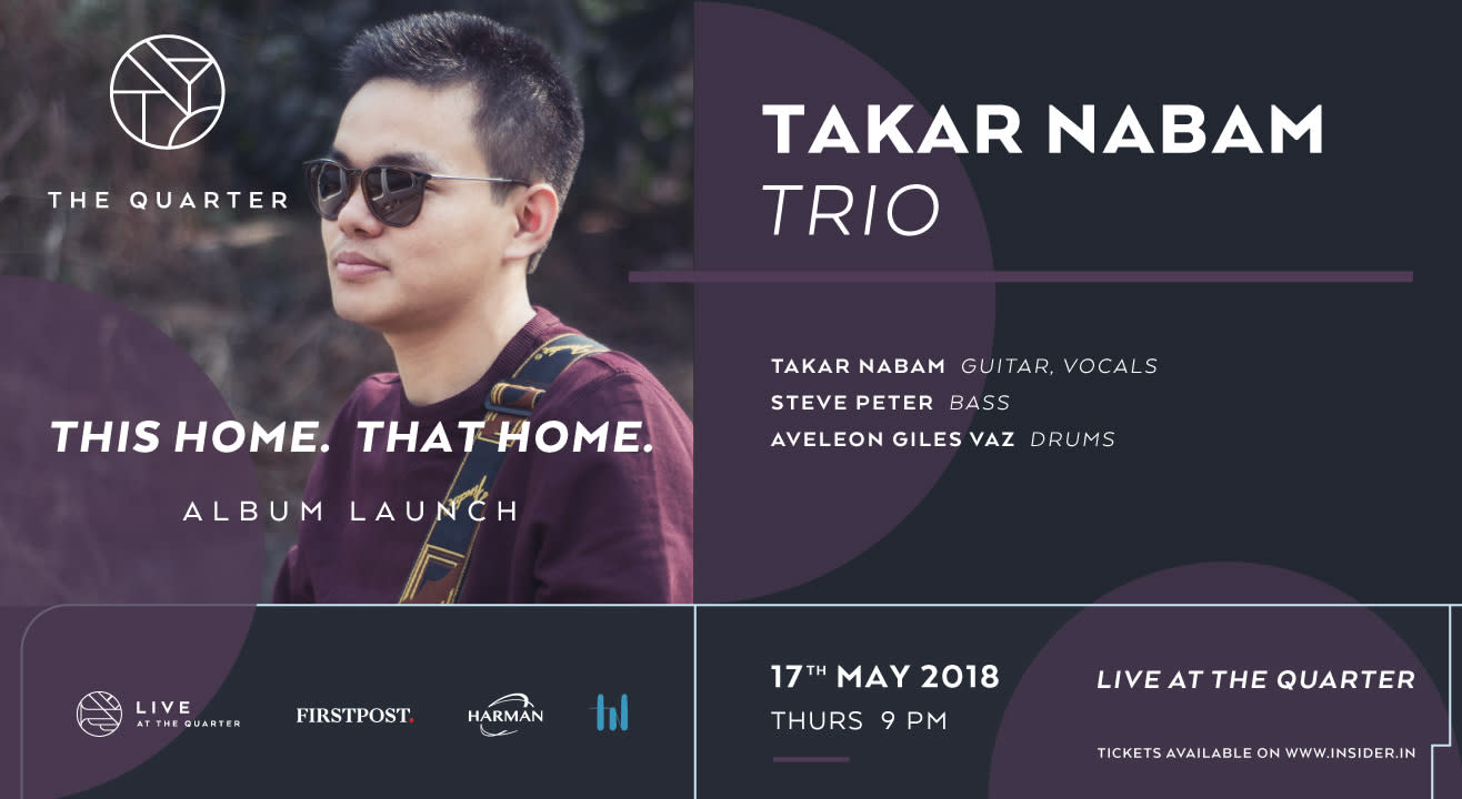 """""""This Home, That Home"""" album launch by Takar Nabam at The Quarter"""