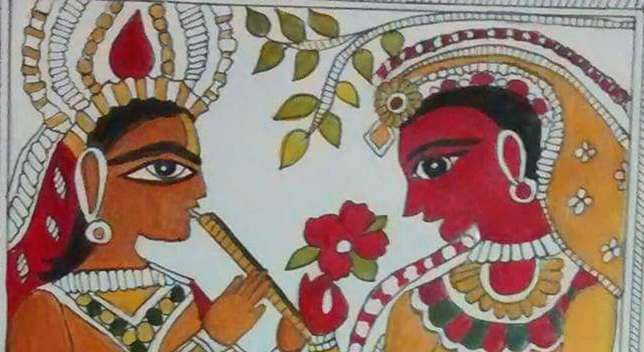 Madhubani workshop – Beginner workshop