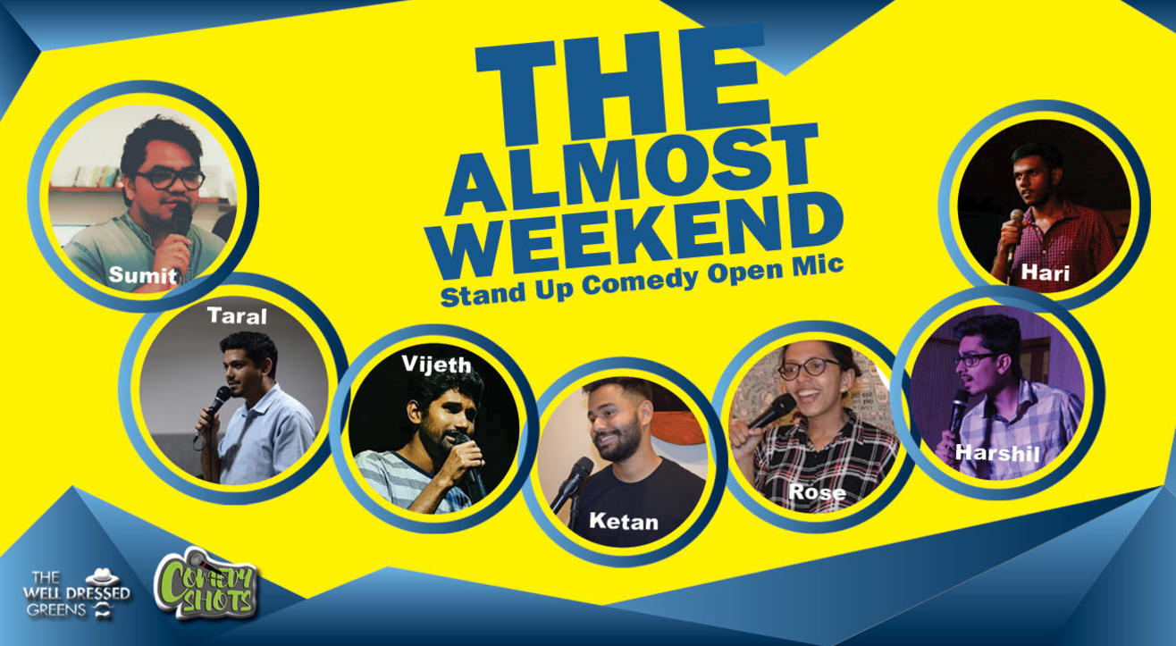 The Almost Weekend-Standup Comedy Open Mic