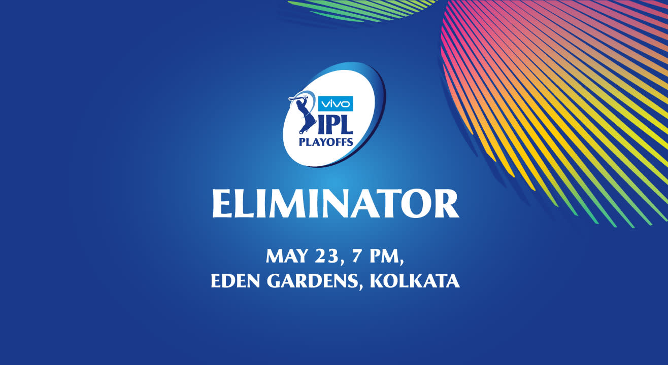 VIVO IPL 2018 Playoffs: Eliminator - Kolkata Knight Riders vs Rajasthan Royals