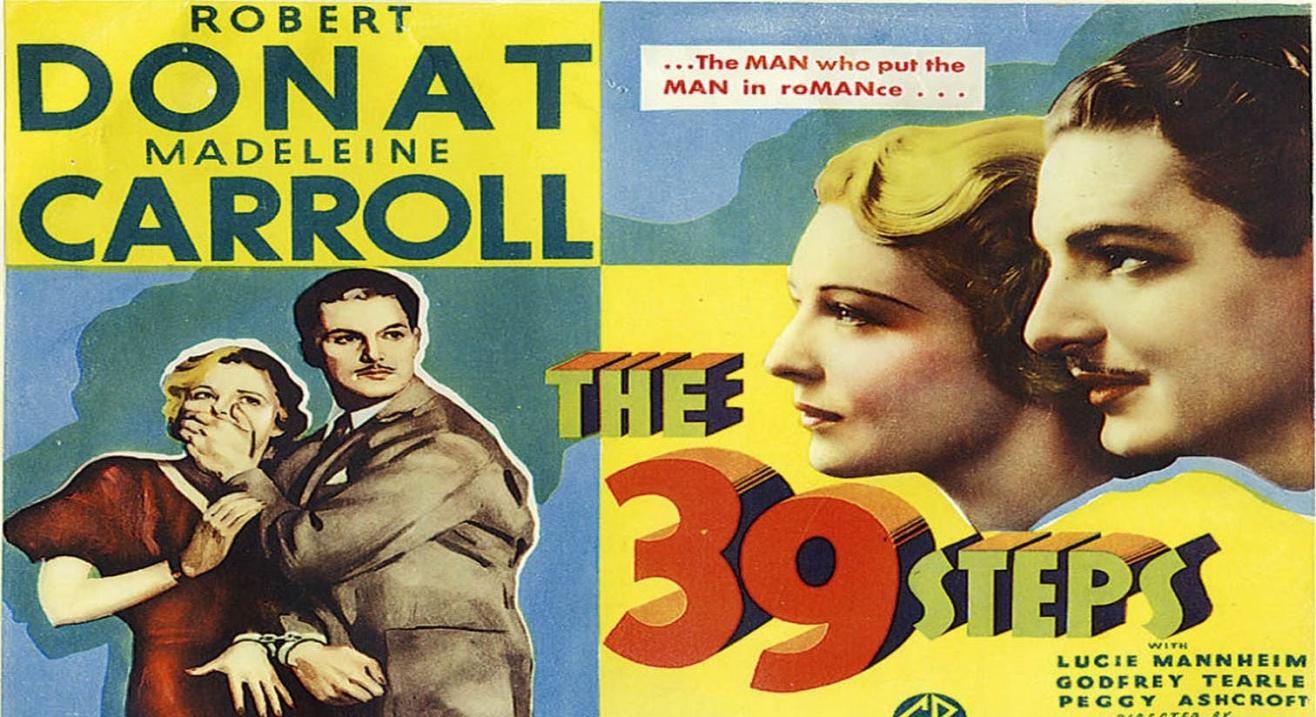 The 39 Steps (1935) Hive Film Club Spy Film Showcase