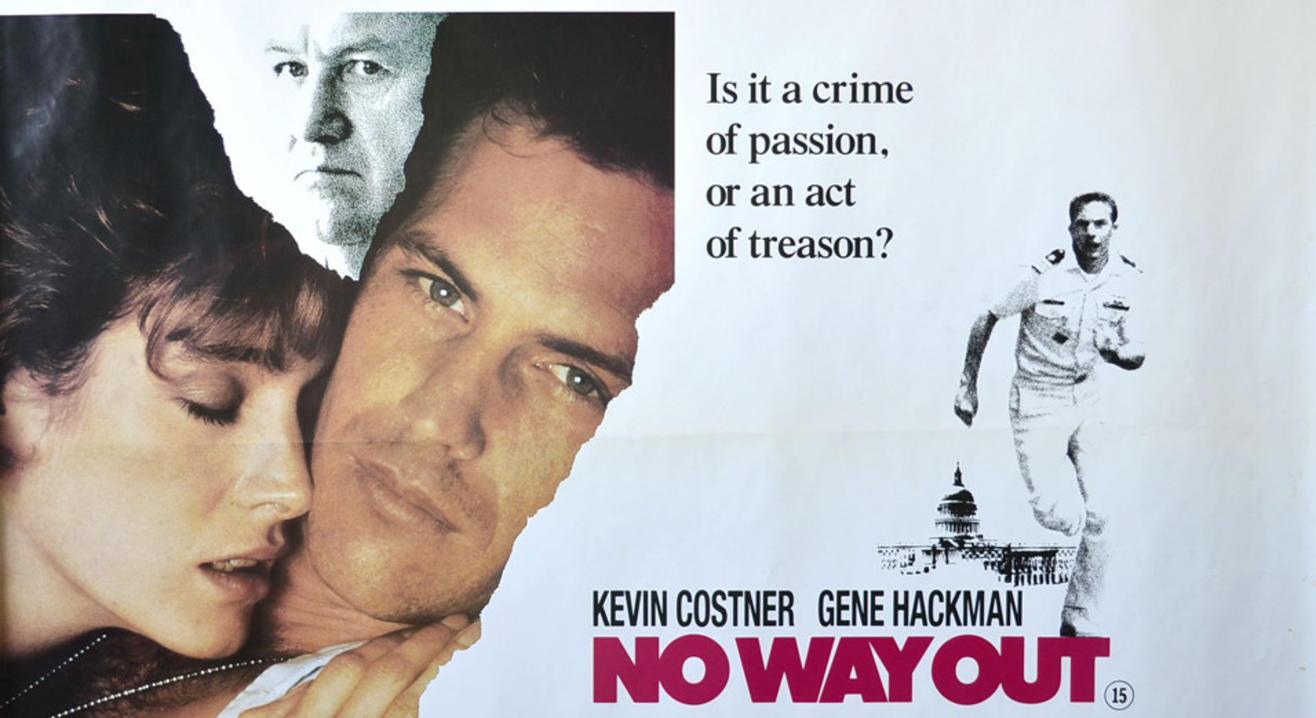 No Way Out (1987) Hive Film Club Spy Film Showcase