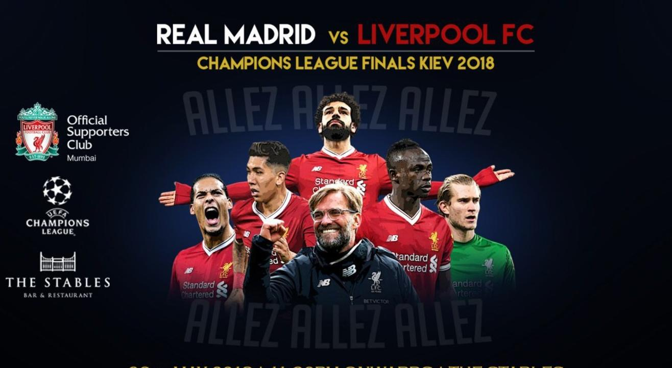 Liverpool v Real Madrid | UCL Final Official Screening