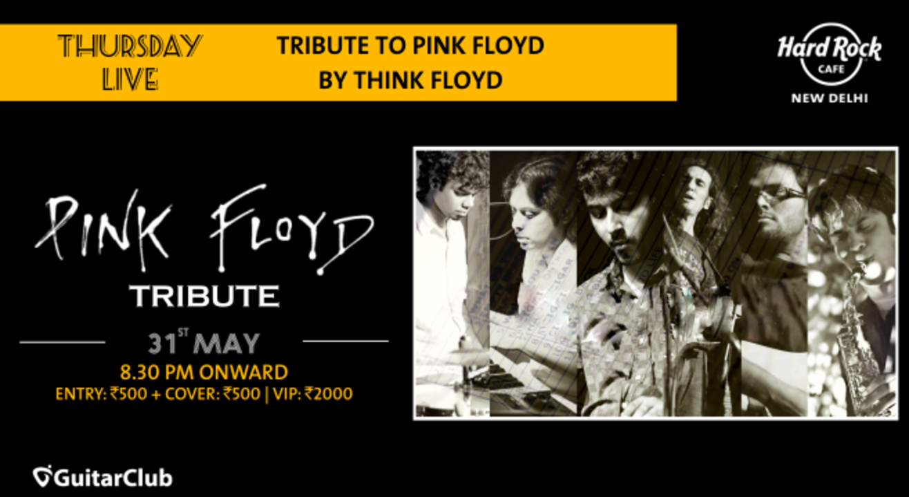 Tribute to Pink Floyd by Think Floyd - Thursday Live!