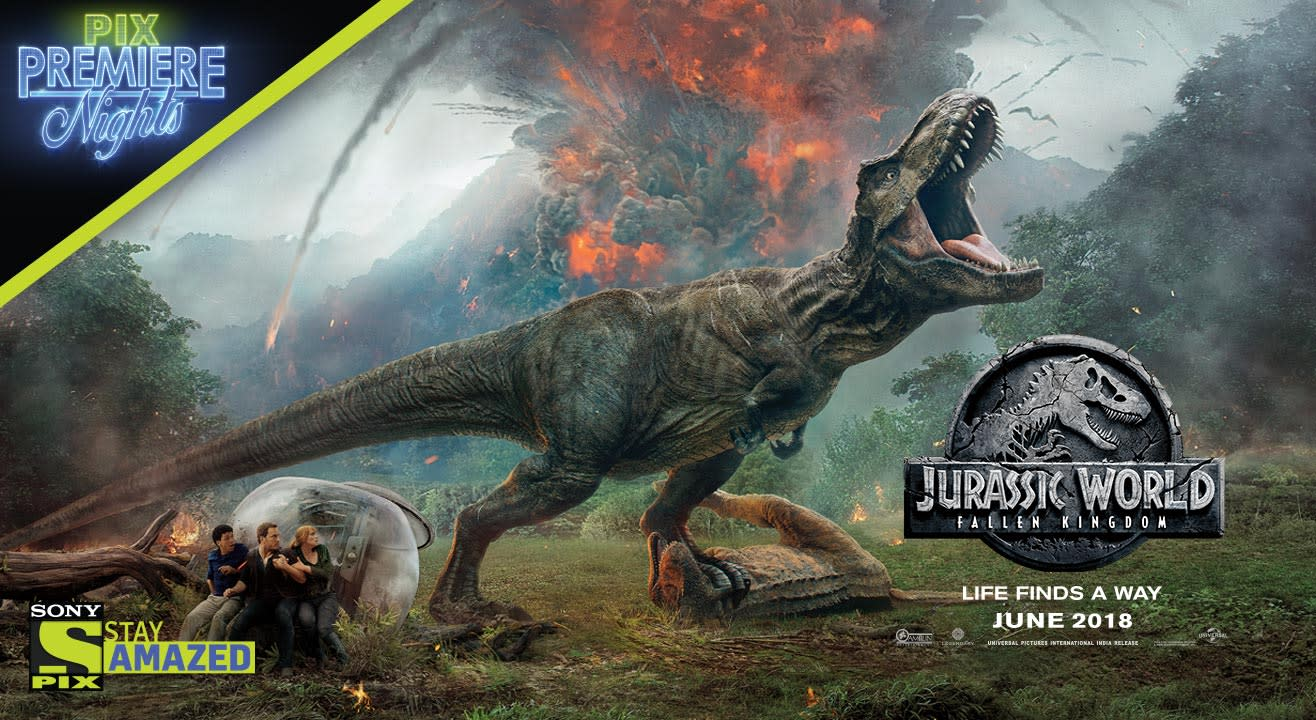 Jurassic World: Fallen Kingdom Contest - Win Tickets To The Exclusive Premiere from Sony PIX!