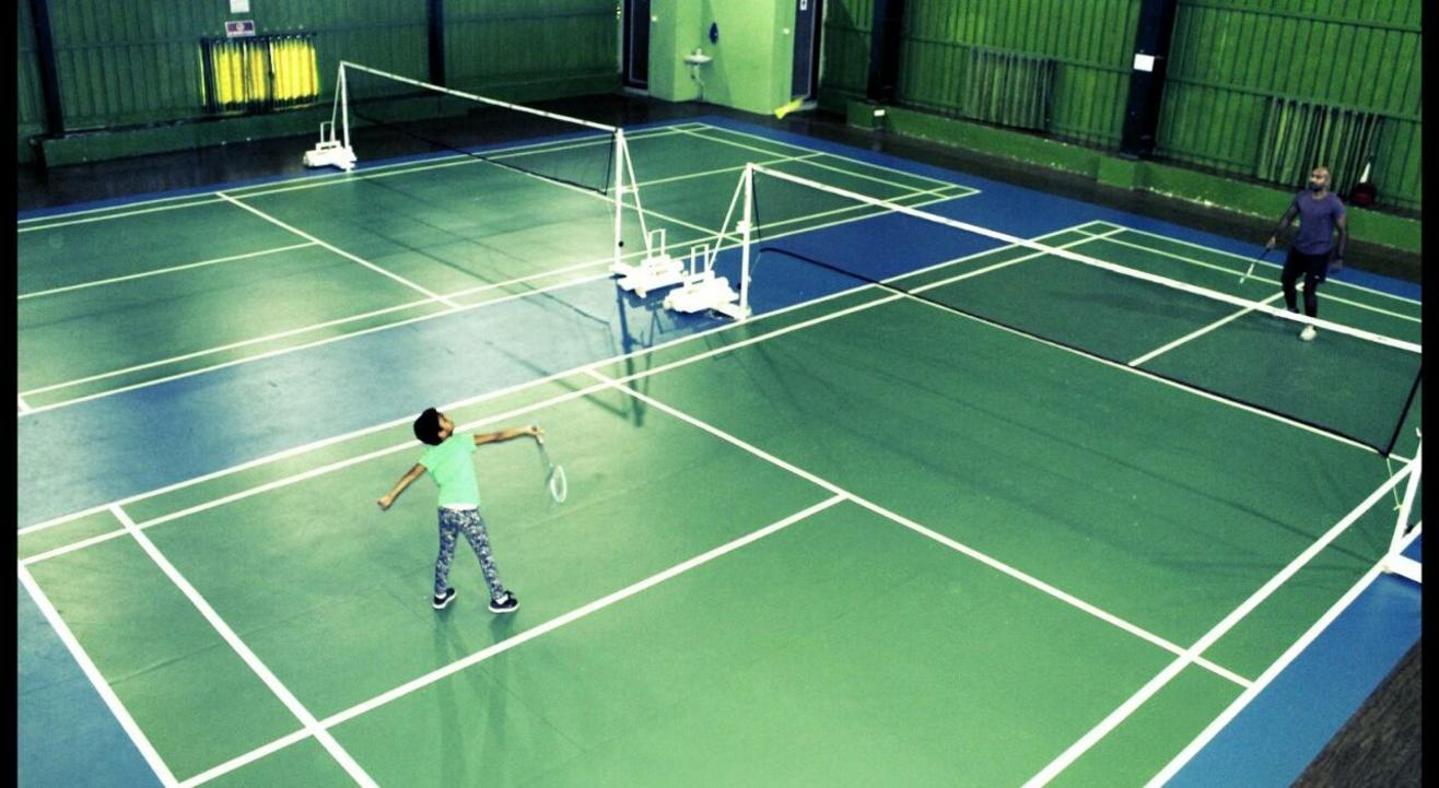 RPUG'S Badminton Court, Mohammed Wadi [Badminton]