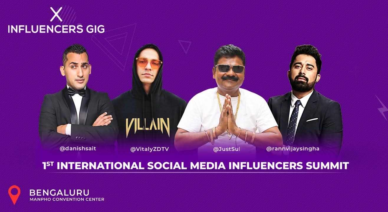 Influencers Gig - Bangalore