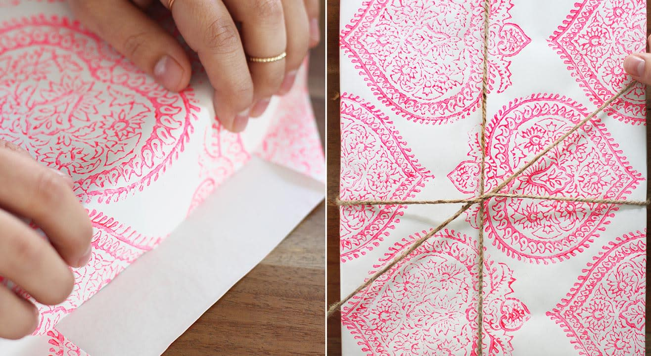 Block Printing on Paper by Iteeha