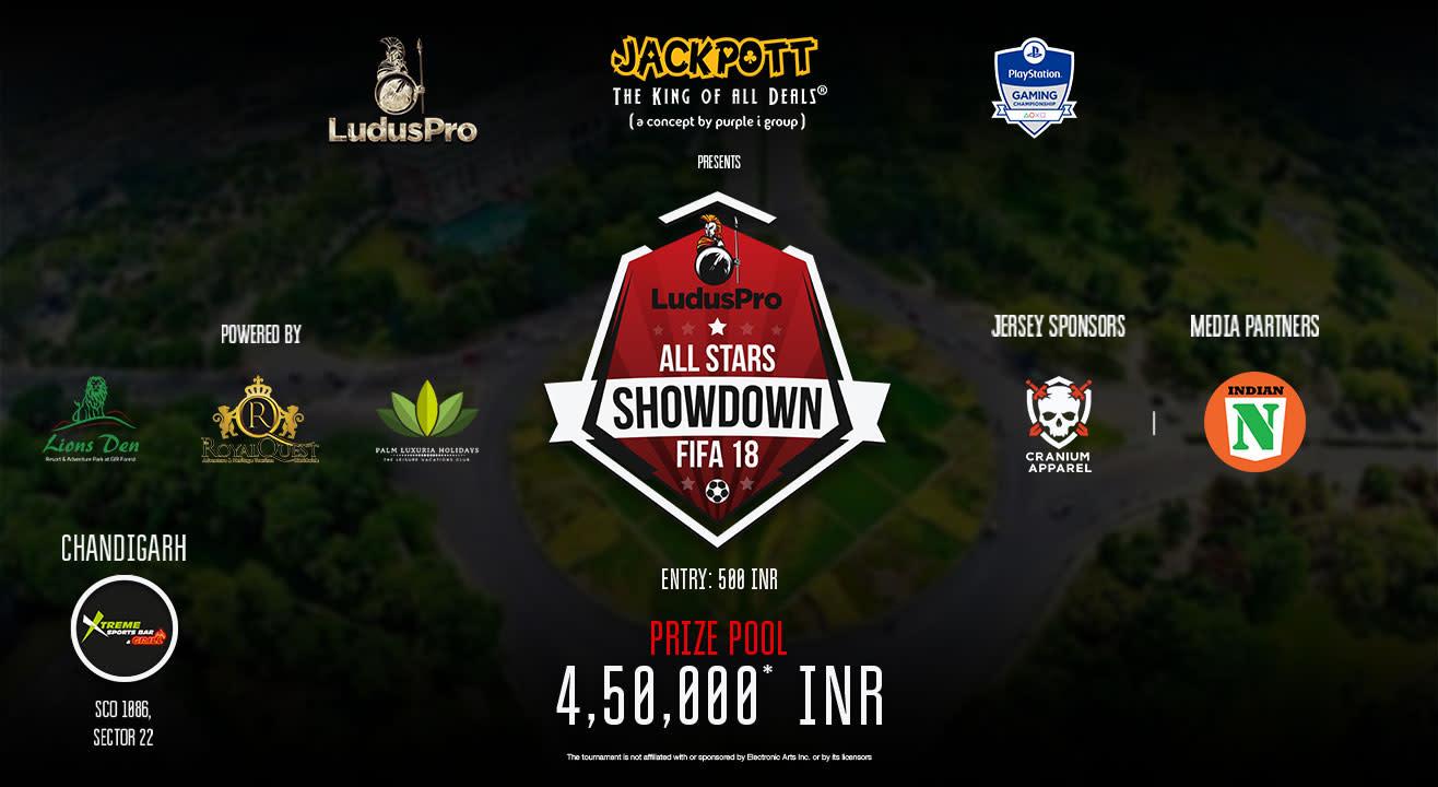 All Stars Showdown - FIFA 18 (Chandigarh Qualifier)