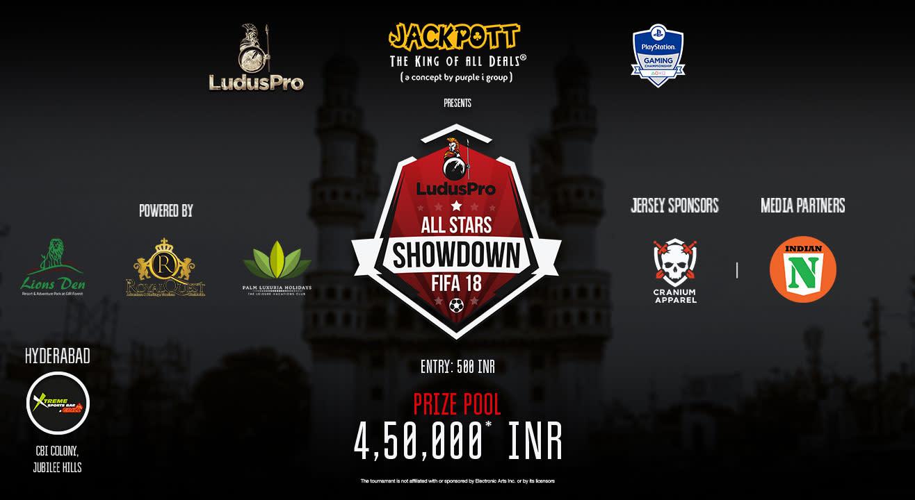 All Stars Showdown - FIFA 18 (Hyderabad Qualifier)