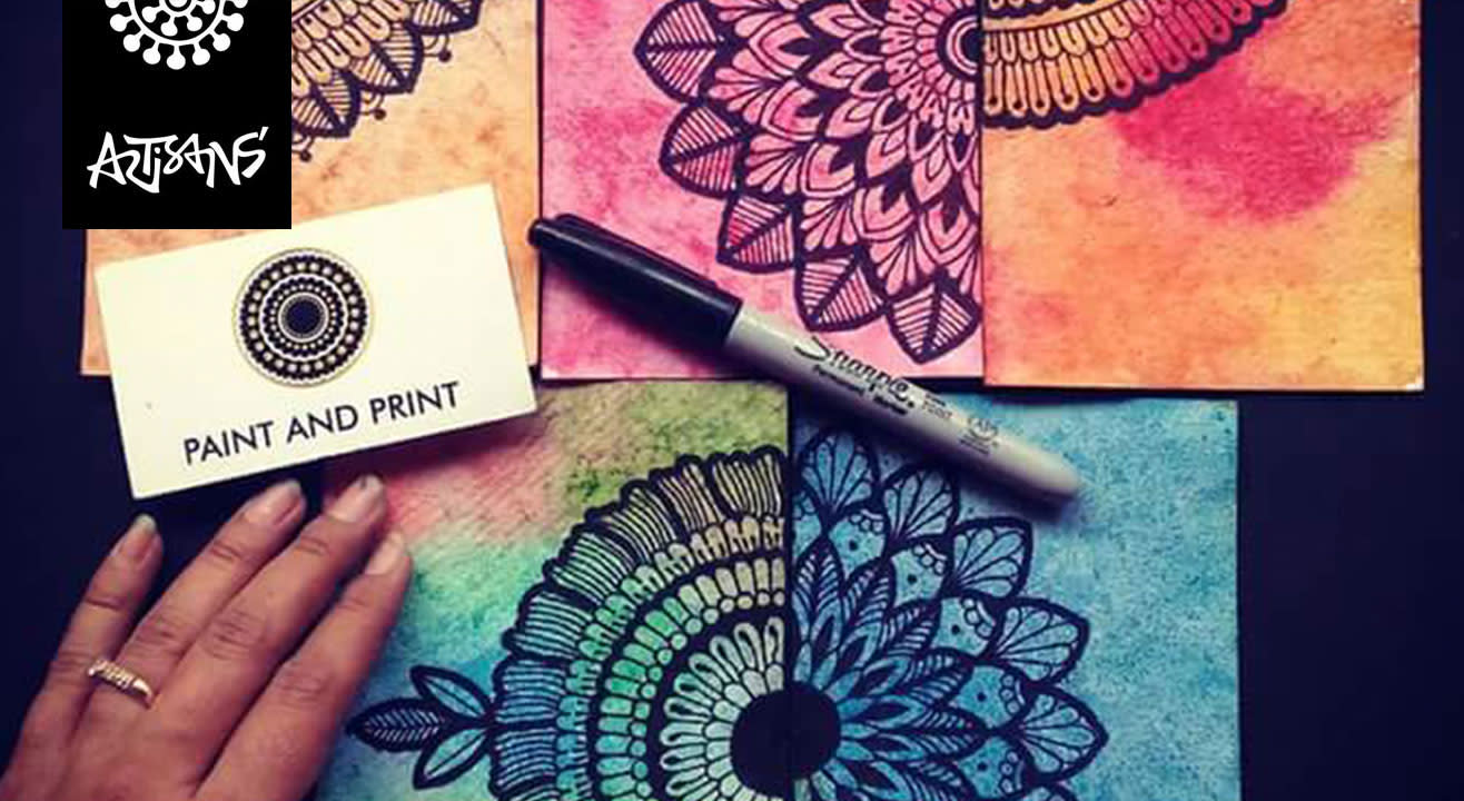 Mandala Doodling by Ruchi Patel