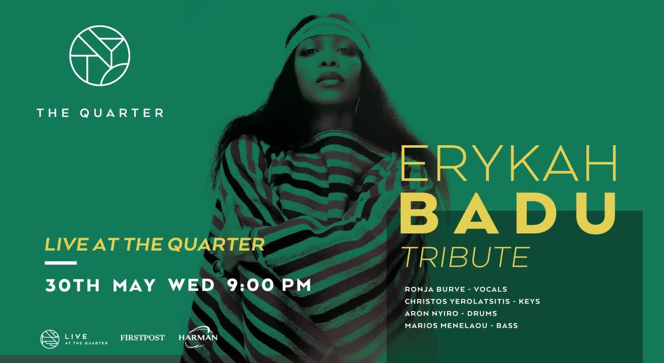 Erykah Badu Tribute by  Ronja Burve  at The Quarter