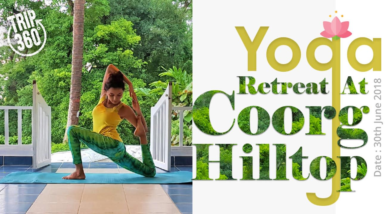 Yoga Retreat at Coorg Hilltop