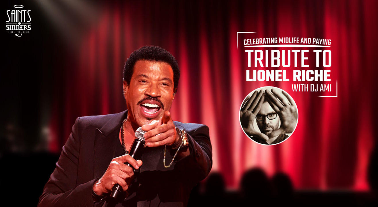 Midlife celebration with tribute to Lionel Richie by DJ Ami