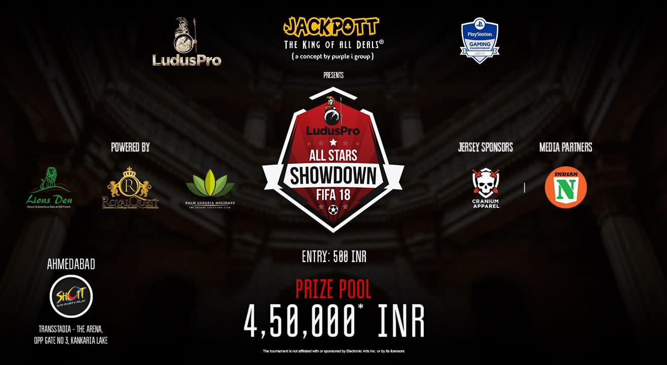 All Stars Showdown - FIFA 18 (Ahmedabad Qualifier)